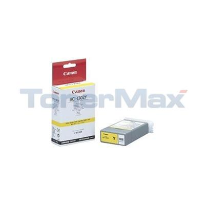 CANON BJ-W2200 BCI-1302Y INK TANK YELLOW 130ML